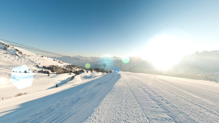 Virtual tour - snow gallery