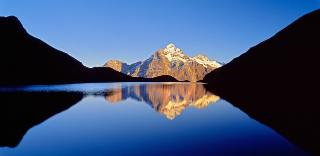 Location: Switzerland, Grindelwald, Bachalpsee lake gallery