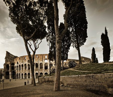 Location: Italy, Rome, Roman Forum and Colosseum gallery