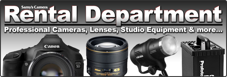 Samy's Camera - Equipment Rental - Services For Photography & Film ...