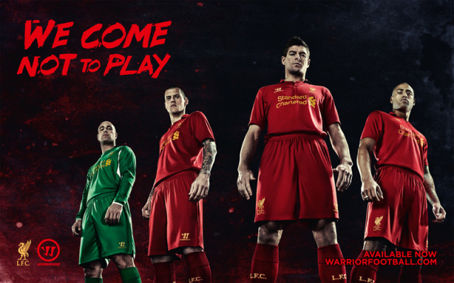 Client: Warrior for Liverpool football club gallery