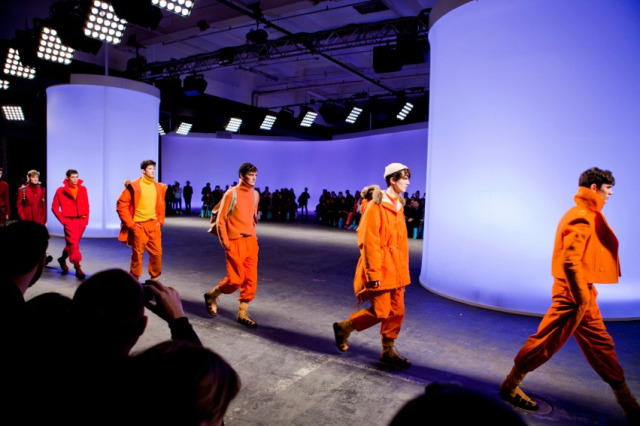 160m long Light Wall for Topman and BFC for London Fasion Week gallery