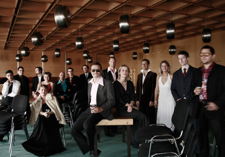 Velvet Elevator - The Lounge Orchestra, shot in Hotel Kiew, Bratislava gallery