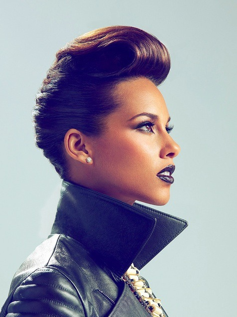 Photographer: Jill Greenberg with Alicia Keys gallery