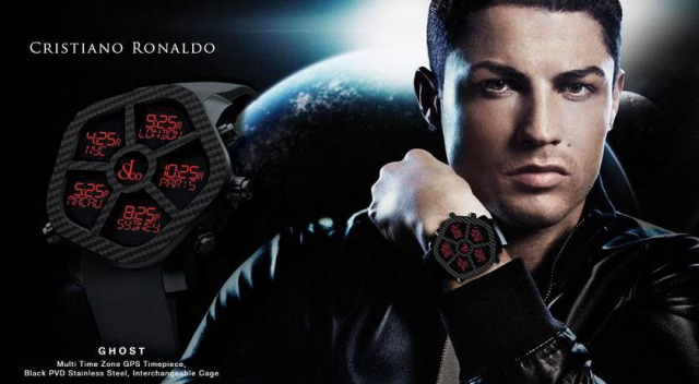 Cristiano Ronaldo for Jacob&Co gallery