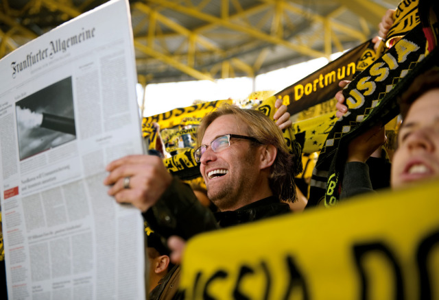 Jürgen Klopp - for FAZ - Making Of gallery