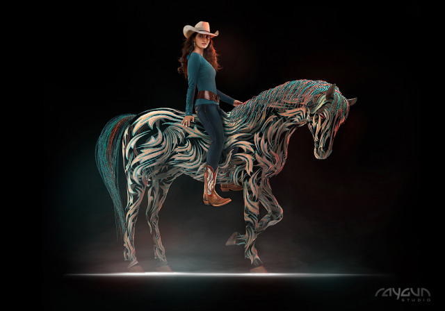 Ariat - CGI Magic Horse gallery