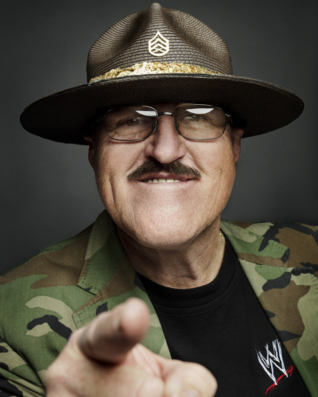 Sgt. Slaughter, WWE Superstar, 2004 Hall of Fame gallery