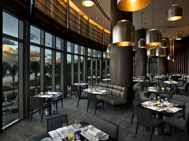 St. Regis Bal Harbour Restaurant designed by Yabu Pushelburg gallery