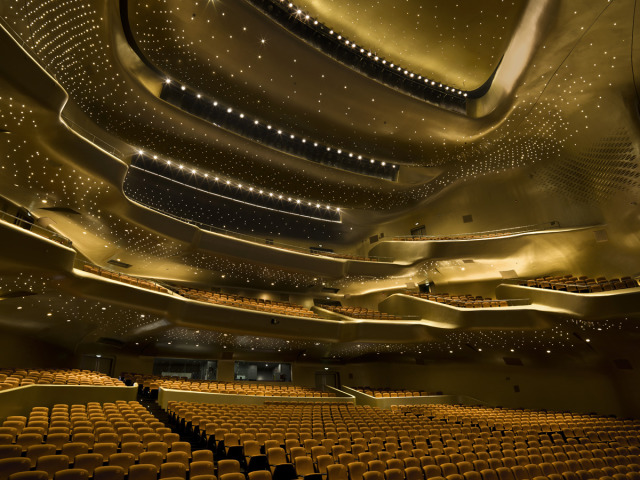 Guangzhou Opera House designed by Zaha Hadid gallery