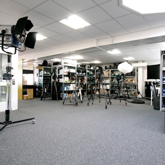 Showroom lights + cameras gallery