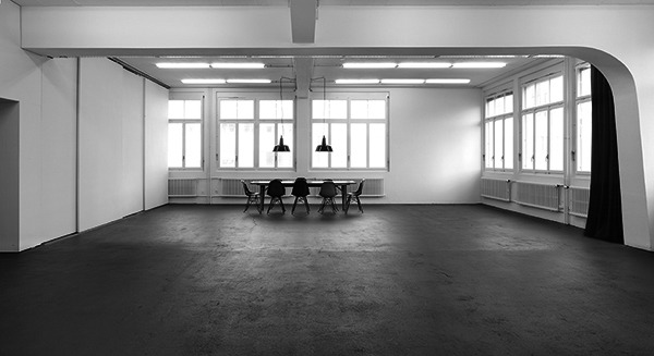 Open space for productions, workshops and exhibitions gallery