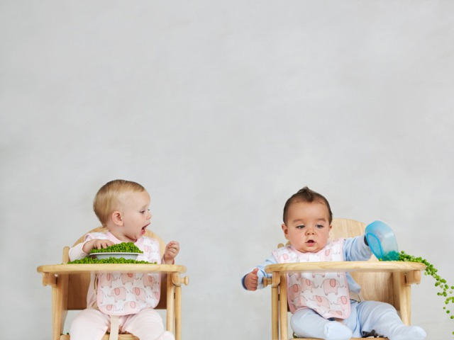 Spilling Peas - baby shoot for John Lewis gallery