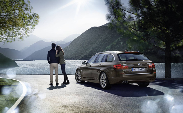 BMW 5series Touring, Launch 2013, International Artwork gallery