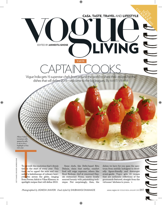 Magazine: VOGUE Cookbook 2013 gallery
