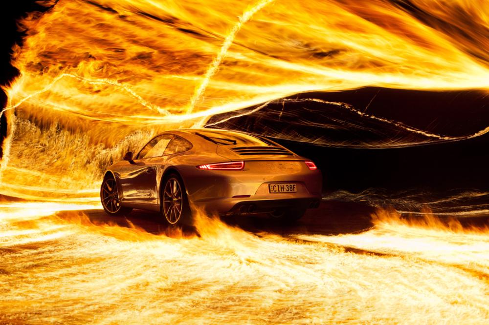авто в огне картинки