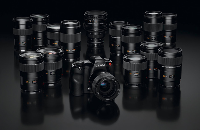 Leica S Body_S-Lenses_Range gallery