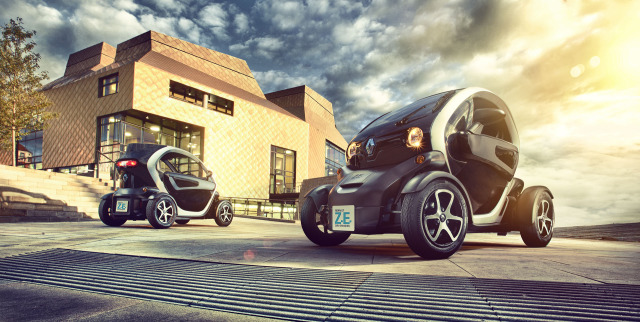 Renault Twizy location shoot gallery