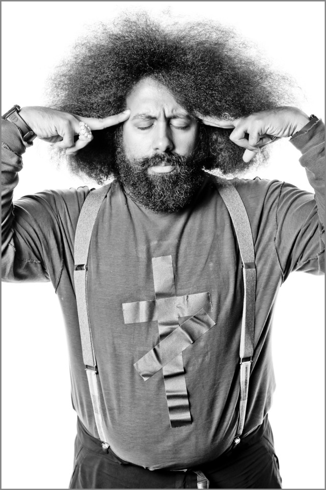 Comedian Reggie Watts for Comedy Central gallery