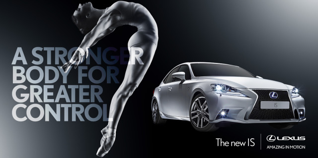 Client: Lexus UK gallery