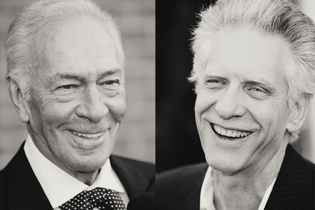 Christopher Plummer . David Cronenberg gallery