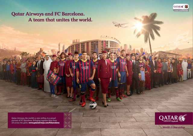 Qatar Airways & FCBarcelona gallery