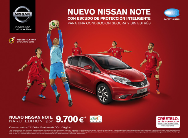 The Spanish football selection by Pep Avila for Nissan gallery