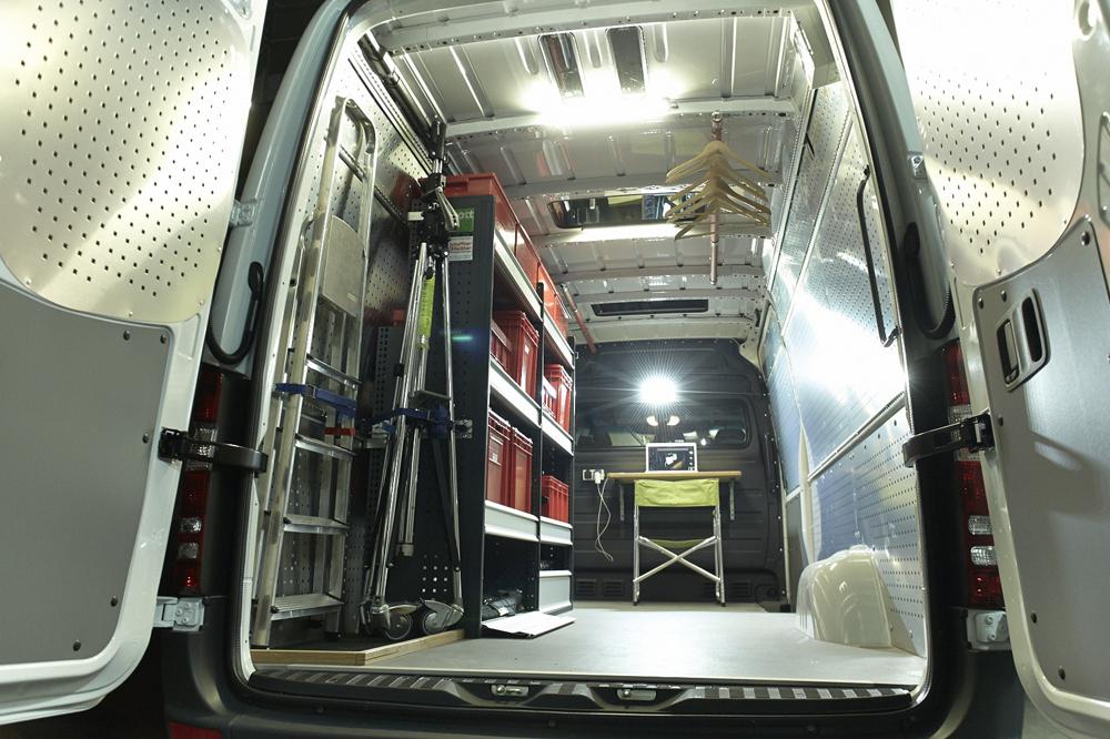 Teamvan Mobile Units Production Vans Services For