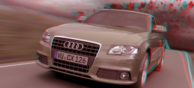 CG Stereoscopic AUDI Visualization gallery