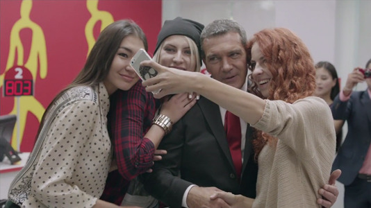 Antonio Banderas gives banking a memorable whirl gallery