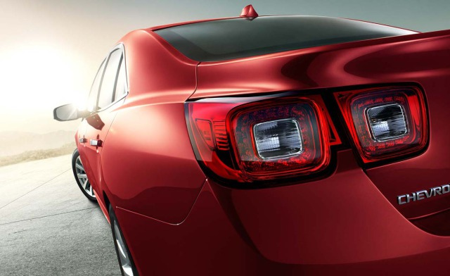 2013 Chevy Malibu - rear detail gallery