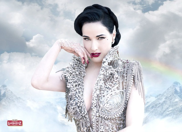 Dita von Teese for Lambertz gallery