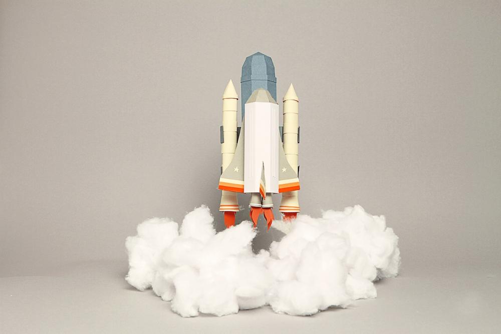 Космический корабль поделки своими руками