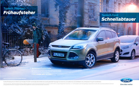 Client: Ford Germany - Ford KUGA Quickclear gallery