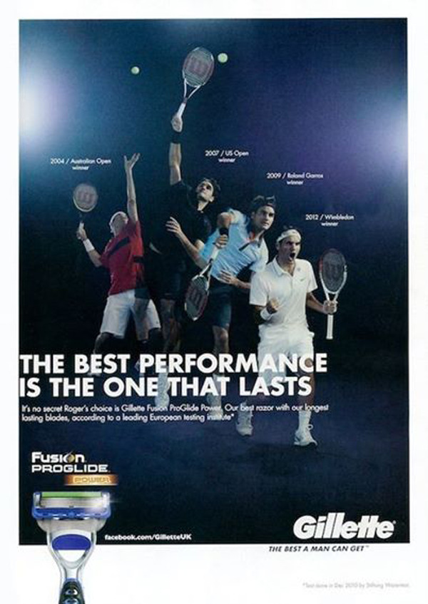 Campaign: Gillette with Roger Federer  gallery