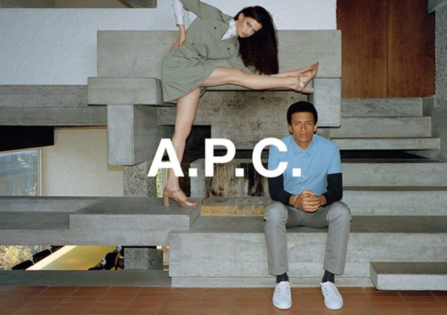 Client: A.P.C. by photographer Walter Pfeiffer/ Production & location by Super Production gallery