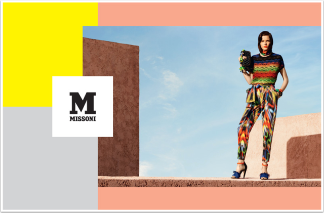 Client: M MISSONI by photographer Mel Bless/ Production & Maroccan locations by Super Production gallery