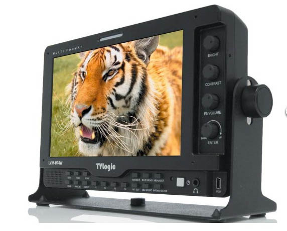 TV Logic LVM-074W 7 inch LCD Monitor gallery