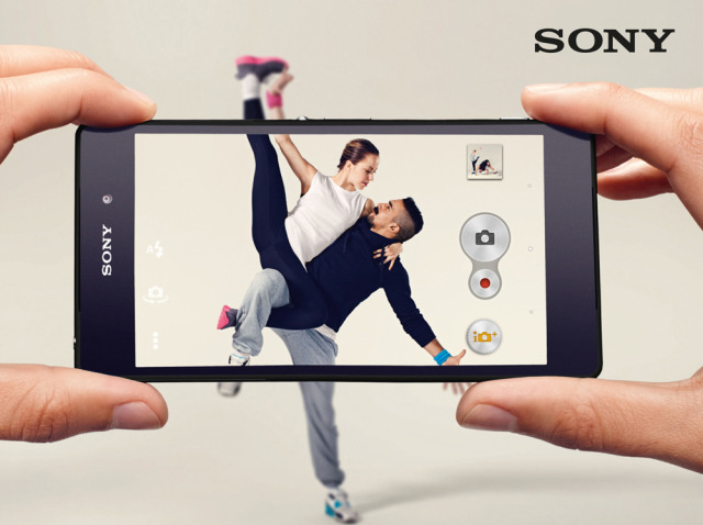 Client: SONY - Experia gallery