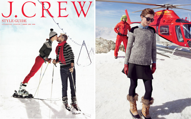 Client: J.Crew in Zermatt, Switzerland gallery