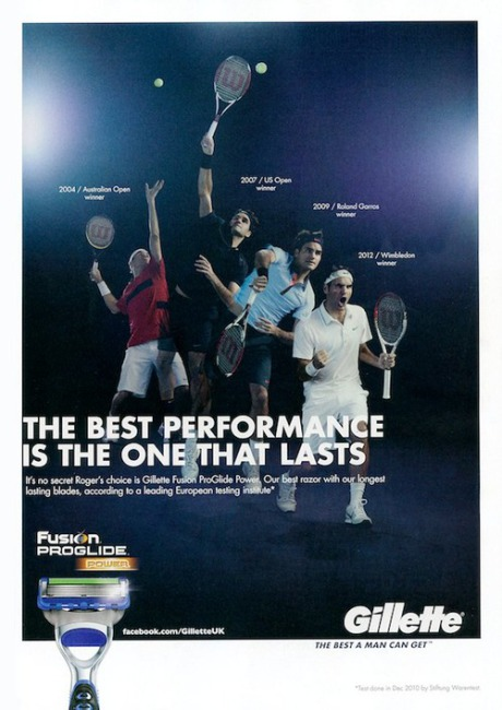 Client: Gillette with Roger Federer gallery