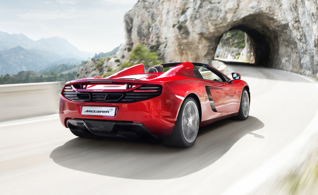 Photo: Joe W.W. / Launch: McLaren MP4-12c Spider gallery
