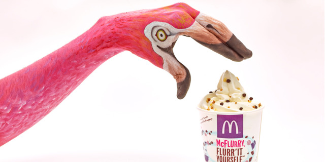Client: McDonald's Swiss -Test Campaign for Awards- gallery