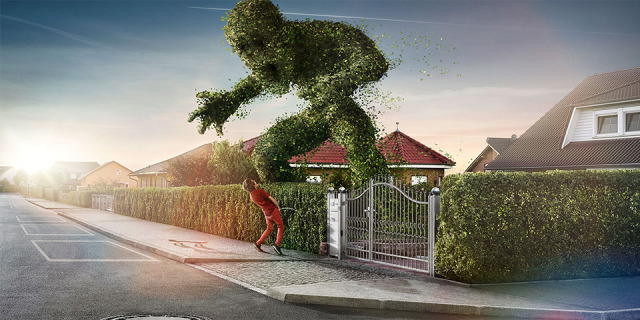Title: The Hedge gallery