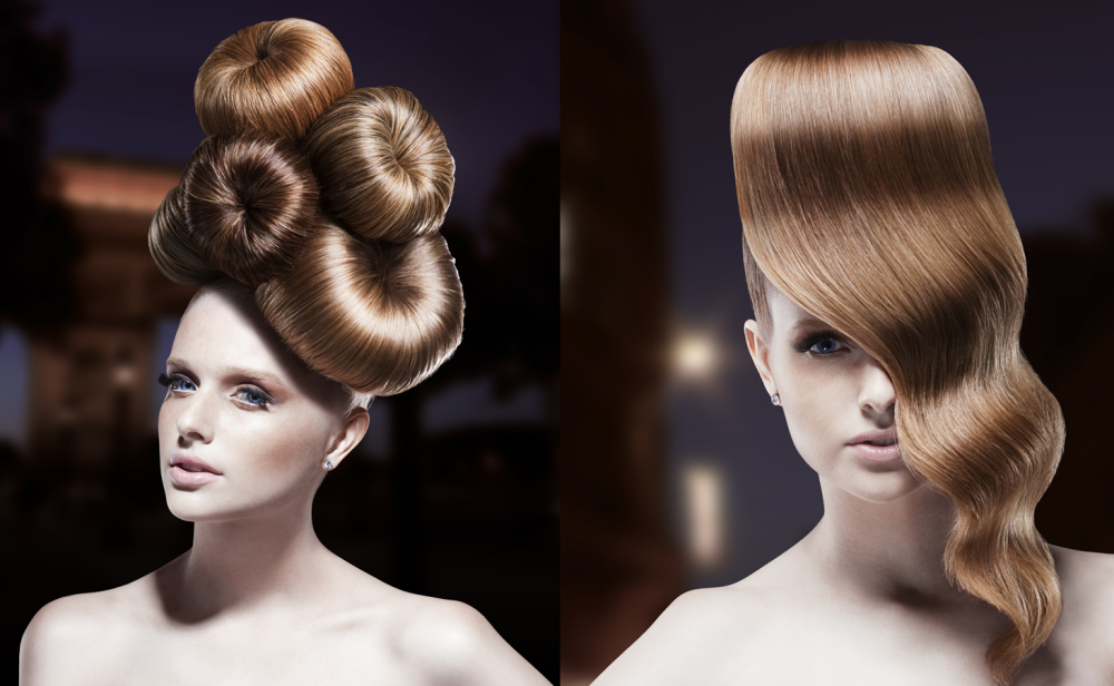 how to do your hair for a photoshoot