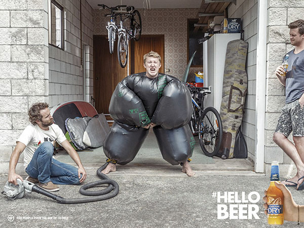 Client: Carlton Dry ' Hello Beer'  gallery