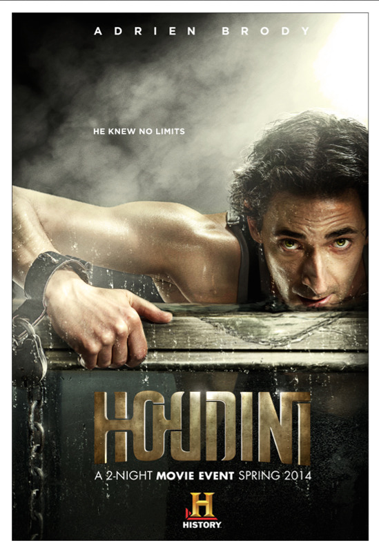 Adrien Brody is Houdini gallery