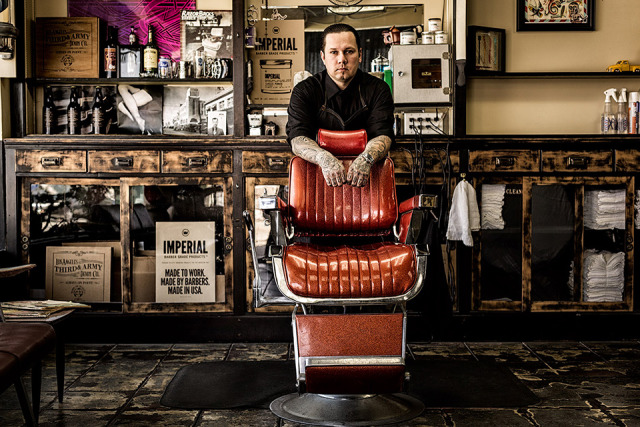 Title: Scott -  Barber Shop Owner gallery