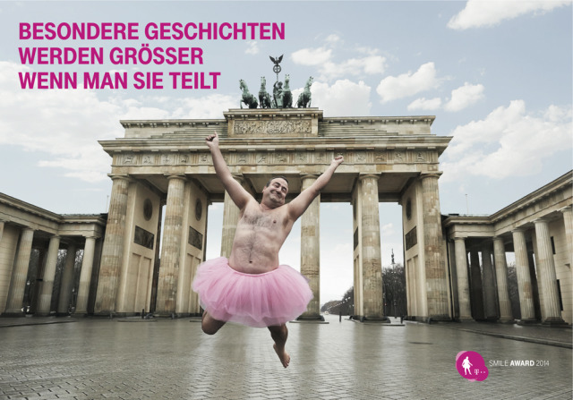 Sven Goerlich for Telekom - Winner of Smile Award 2014 gallery