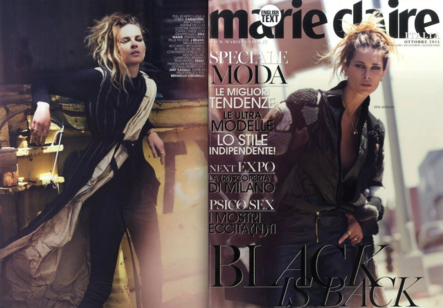 Magazine:  Marie Claire Italy October 2014 gallery